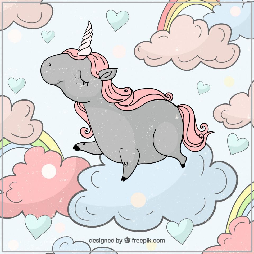 Unicorns; never stop believing